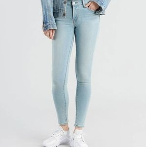 Levi's 710 Super Skinny Light Wash Jeans